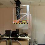 Deskglider being used over a desk